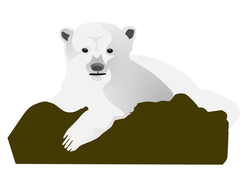 Christmas bear clipart banner black and white download Christmas Polar Bear Clipart | Clipart Panda - Free Clipart Images banner black and white download