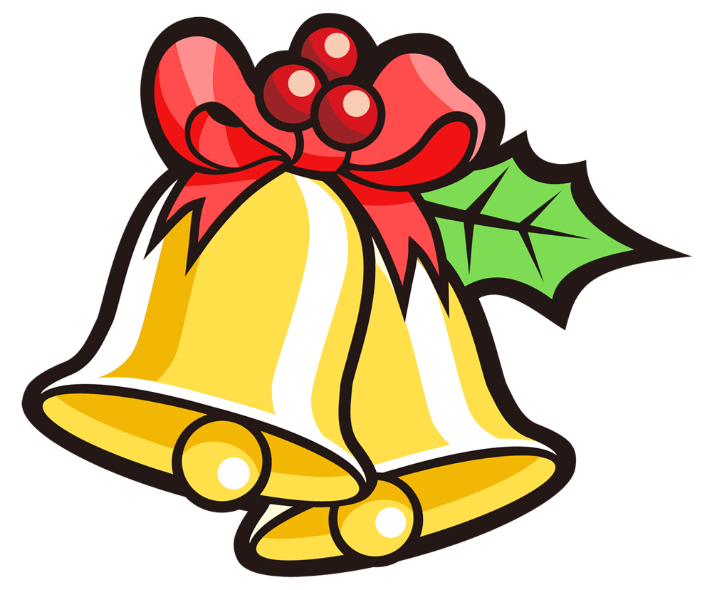 Christmas bell clipart graphic royalty free This Christmas wreath clip art is great for use on whatever project ... graphic royalty free