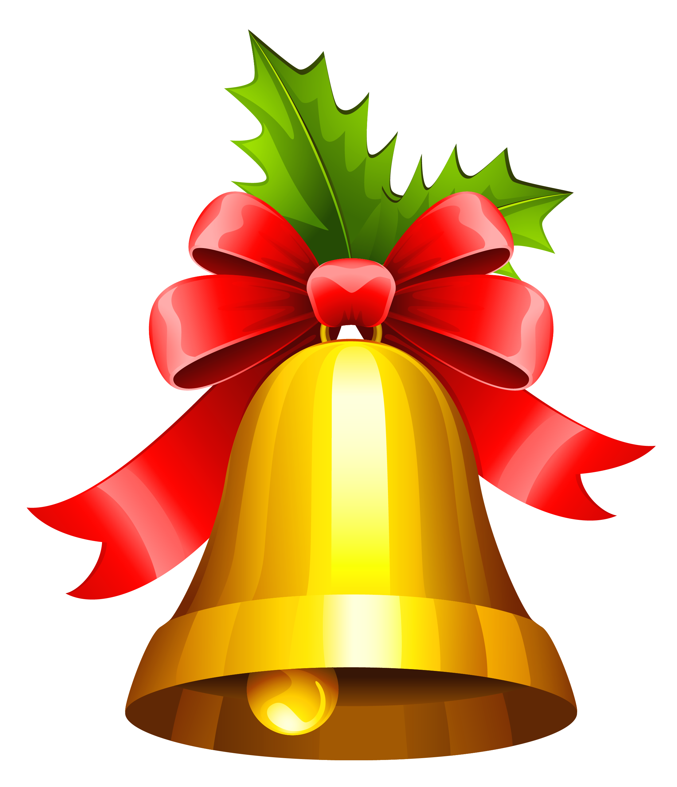 Christmas bell clipart svg black and white download Christmas Bell Transparent PNG Clipart | Gallery Yopriceville ... svg black and white download