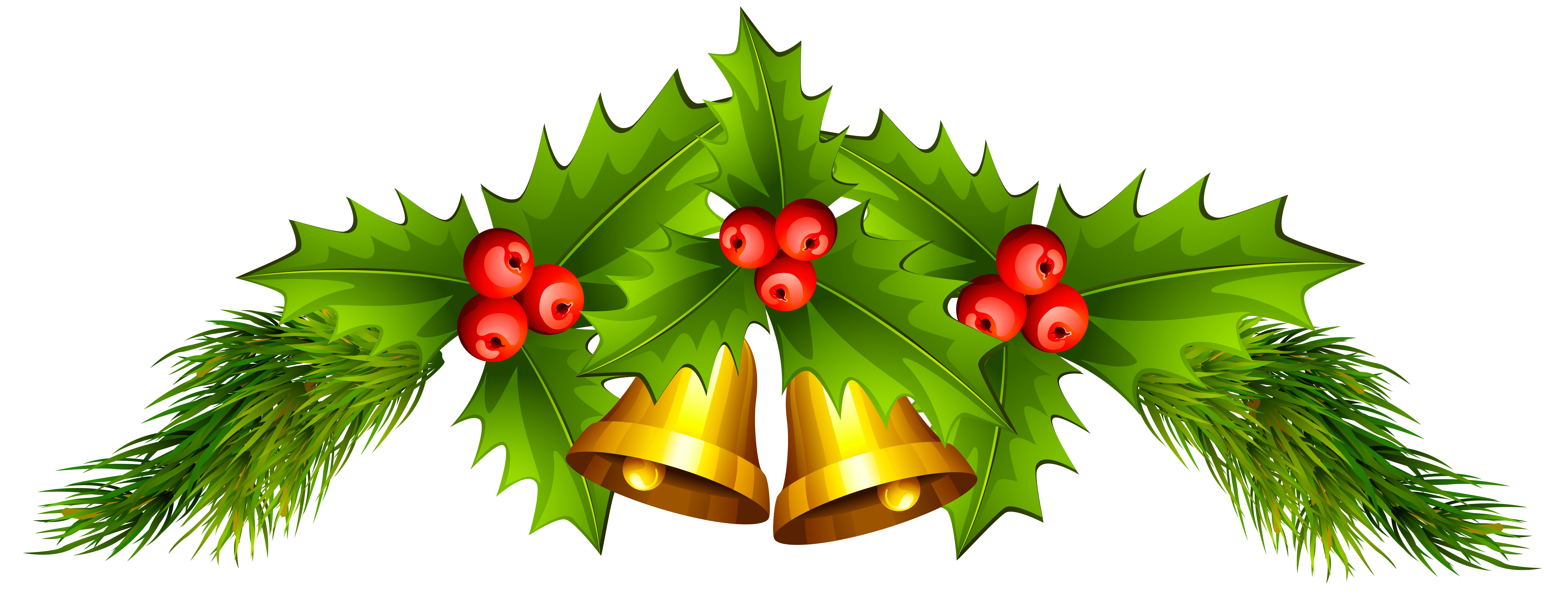 Christmas bells clipart png library stock Christmas Bells PNG Clip Art Image | Gallery Yopriceville - High ... png library stock