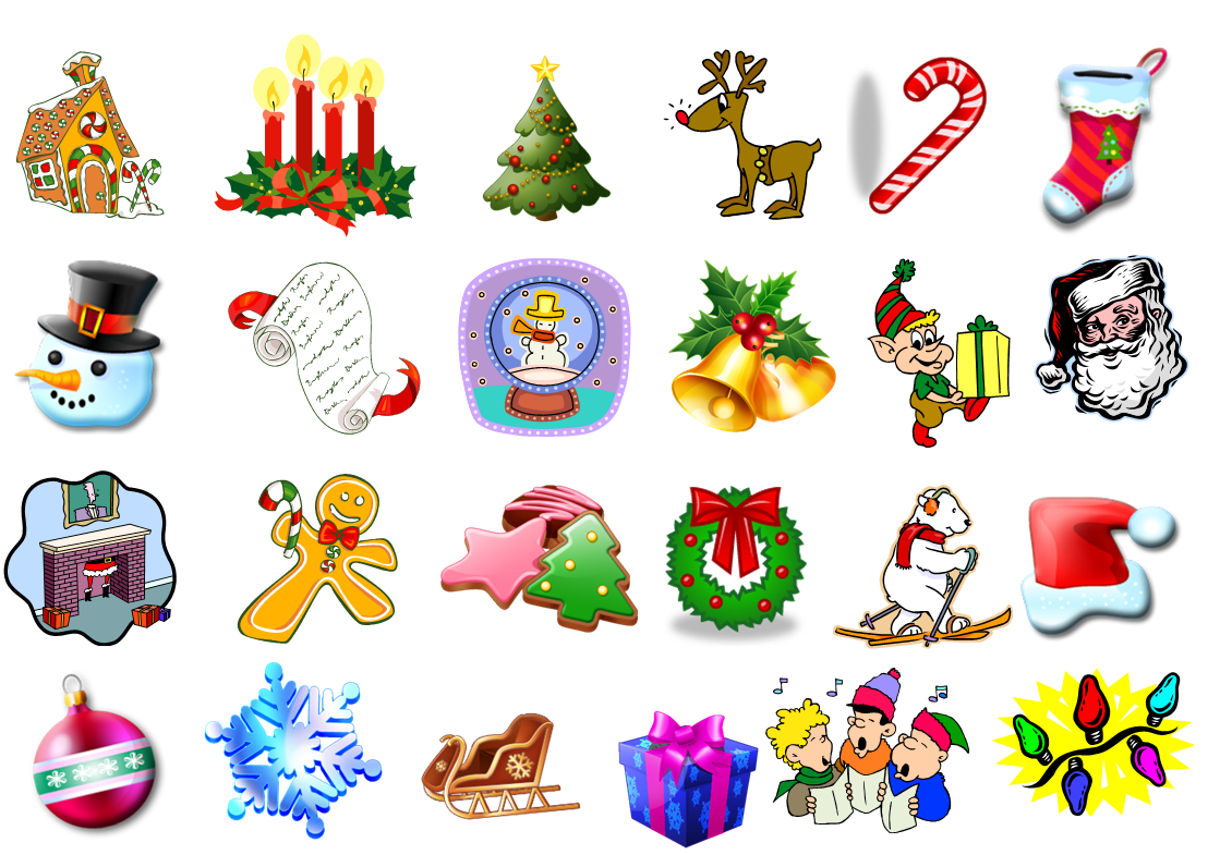 Christmas bingo clipart picture royalty free download Christmas Bingo   4 Kids Cakes picture royalty free download