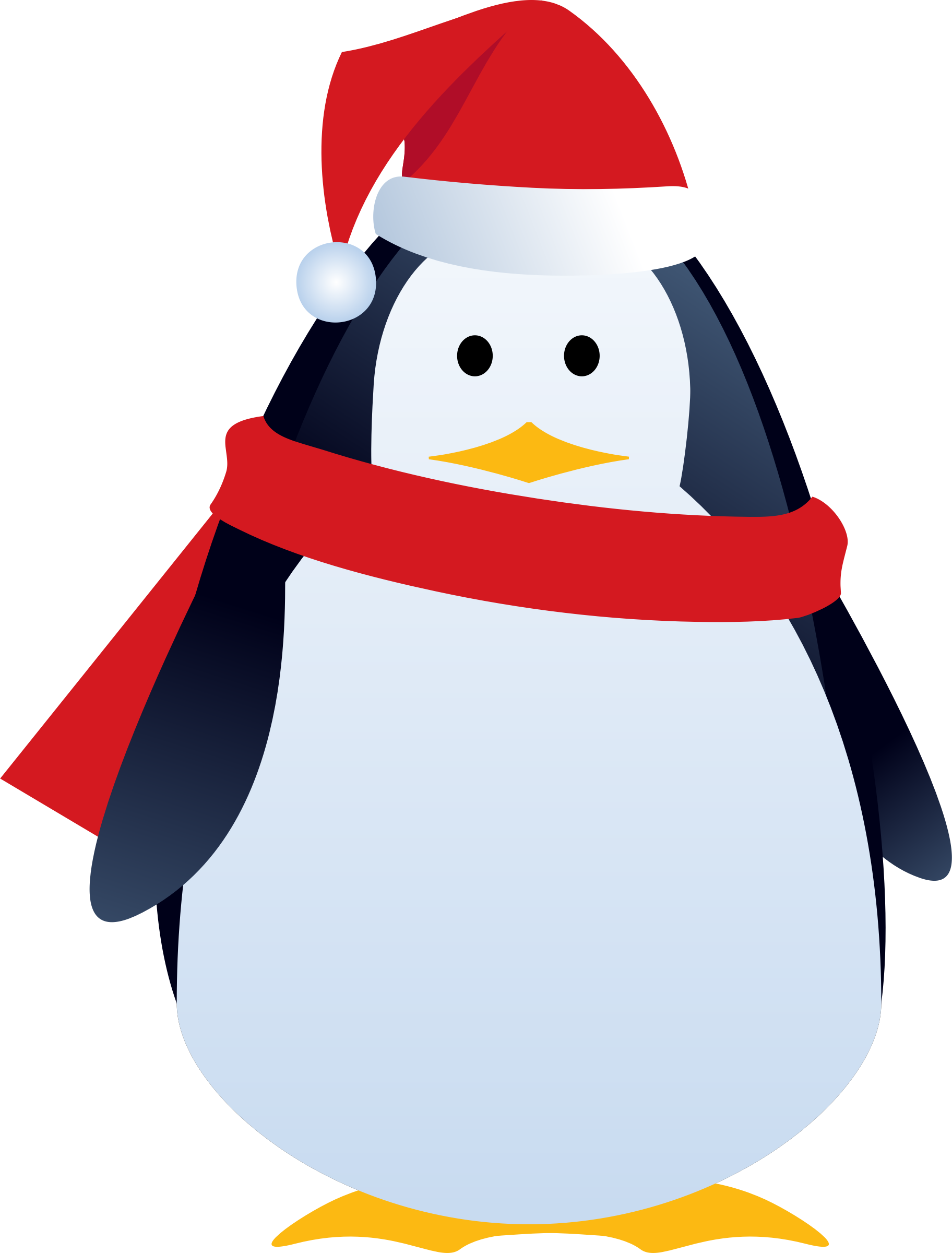 Cute christmas penguin clipart jpg library Clipart - christmas penguin jpg library