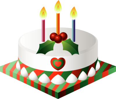 Clipart kid with candles. Christmas birthday cake clip art