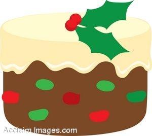 Clipart kid description fruit. Christmas birthday cake clip art