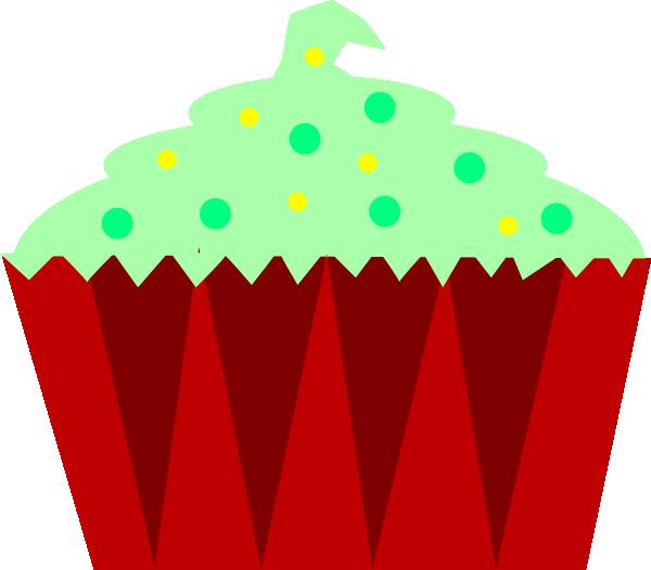 Christmas birthday cake clip art. Cupcake at clker com