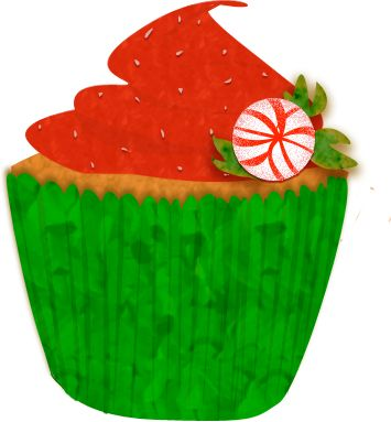 Christmas birthday cake clip art clip art free stock 17 Best images about Cupcakes on Pinterest   Watercolor walls ... clip art free stock
