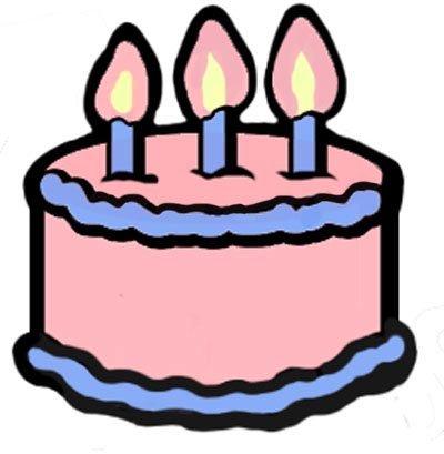 Christmas birthday cake clip art transparent Birthday Cakes Clipart craft projects, Birthday Clipart - Clipartoons transparent