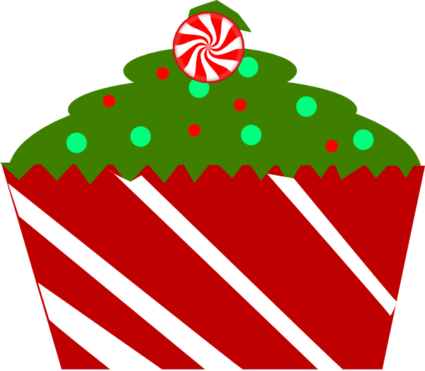 Clipart kid cupcake with. Christmas birthday cake clip art