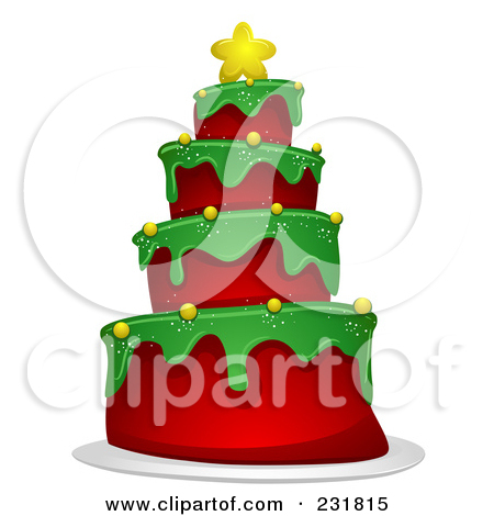 Christmas birthday cake clip art. Clipartfest preview clipart