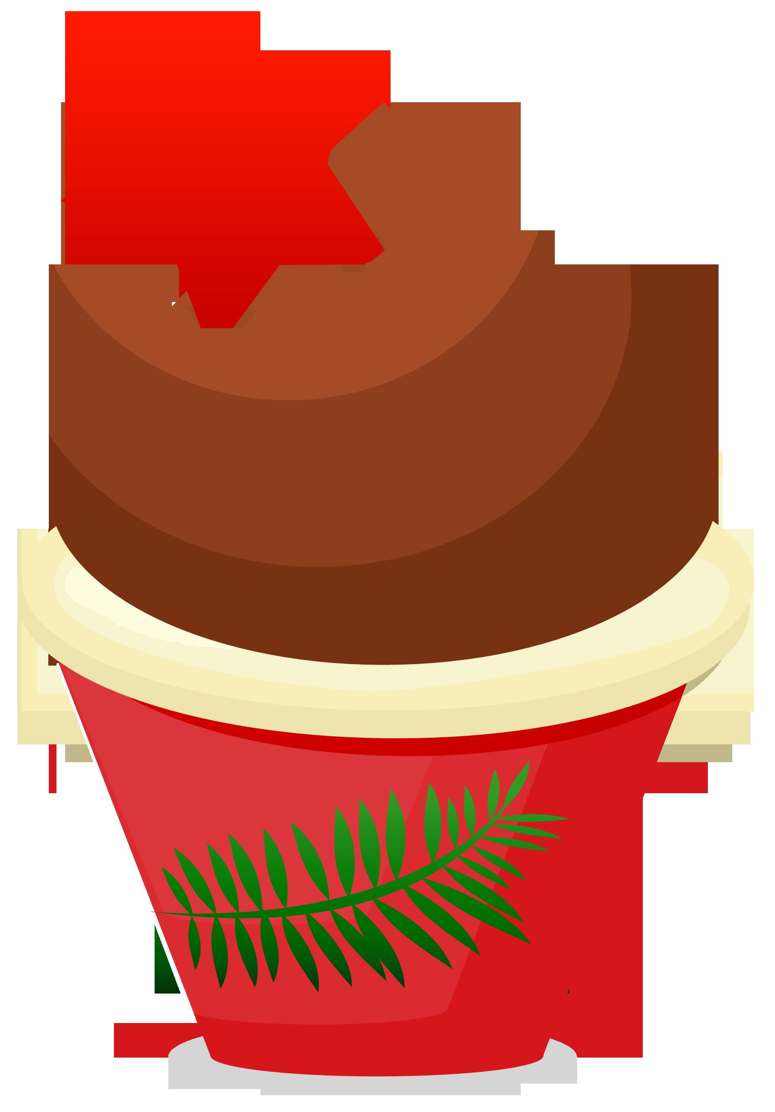 Christmas treats clipart clipart transparent Christmas Cupcake Clipart - Clipart Kid clipart transparent