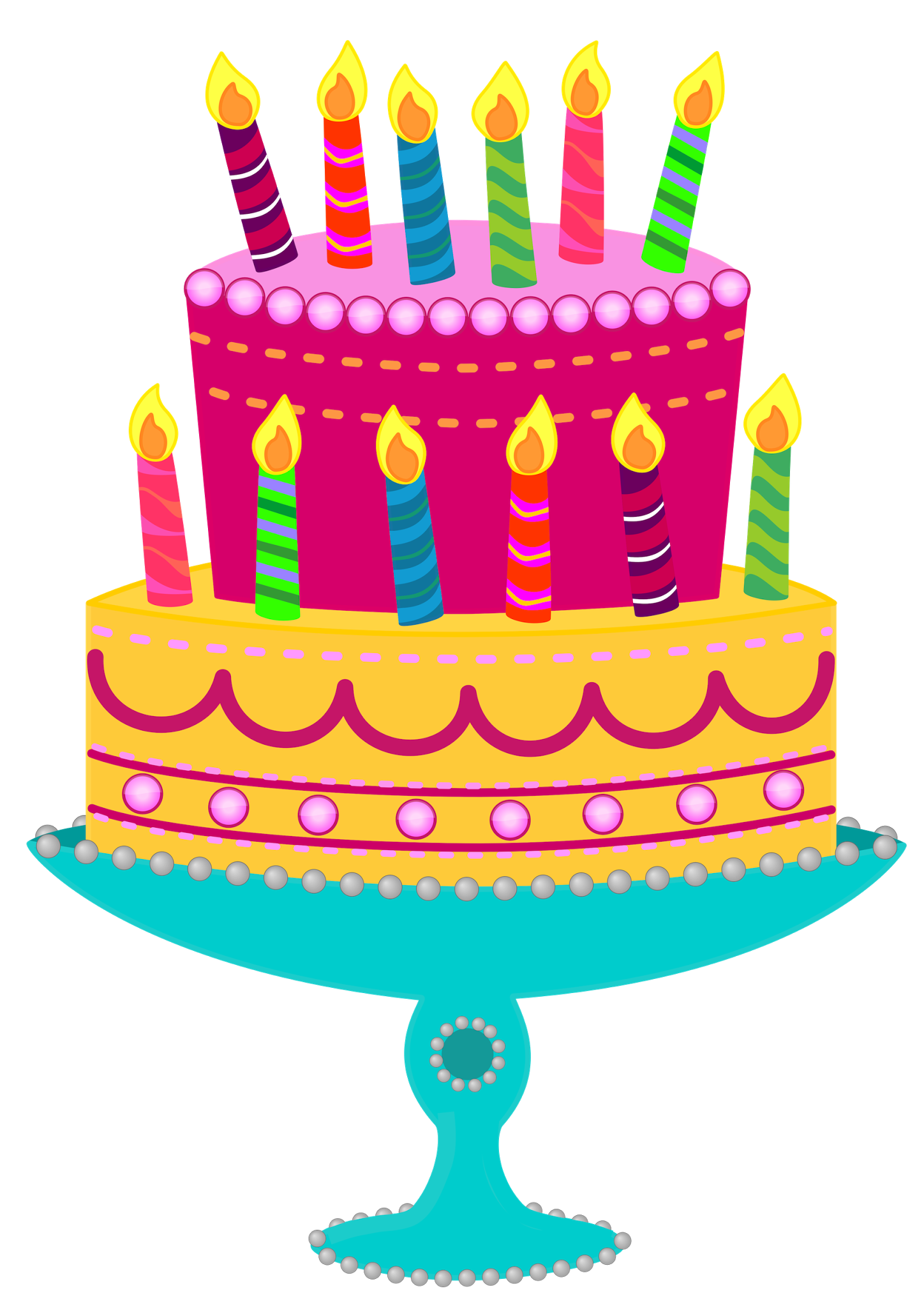 Clipartfest foods . Christmas birthday cake transparent clipart