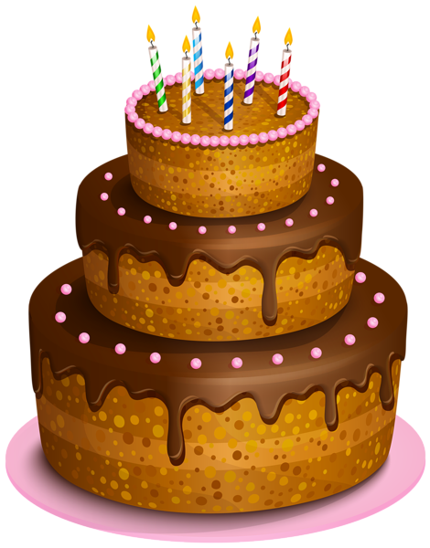 Christmas birthday cake transparent clipart svg library download Birthday Cake Transparent PNG Clip Art Image | clipart cakes ... svg library download