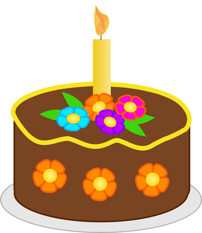 Christmas birthday cake transparent clipart clip art free library Free Holidays Clipart - Popular - 1001FreeDownloads.com clip art free library