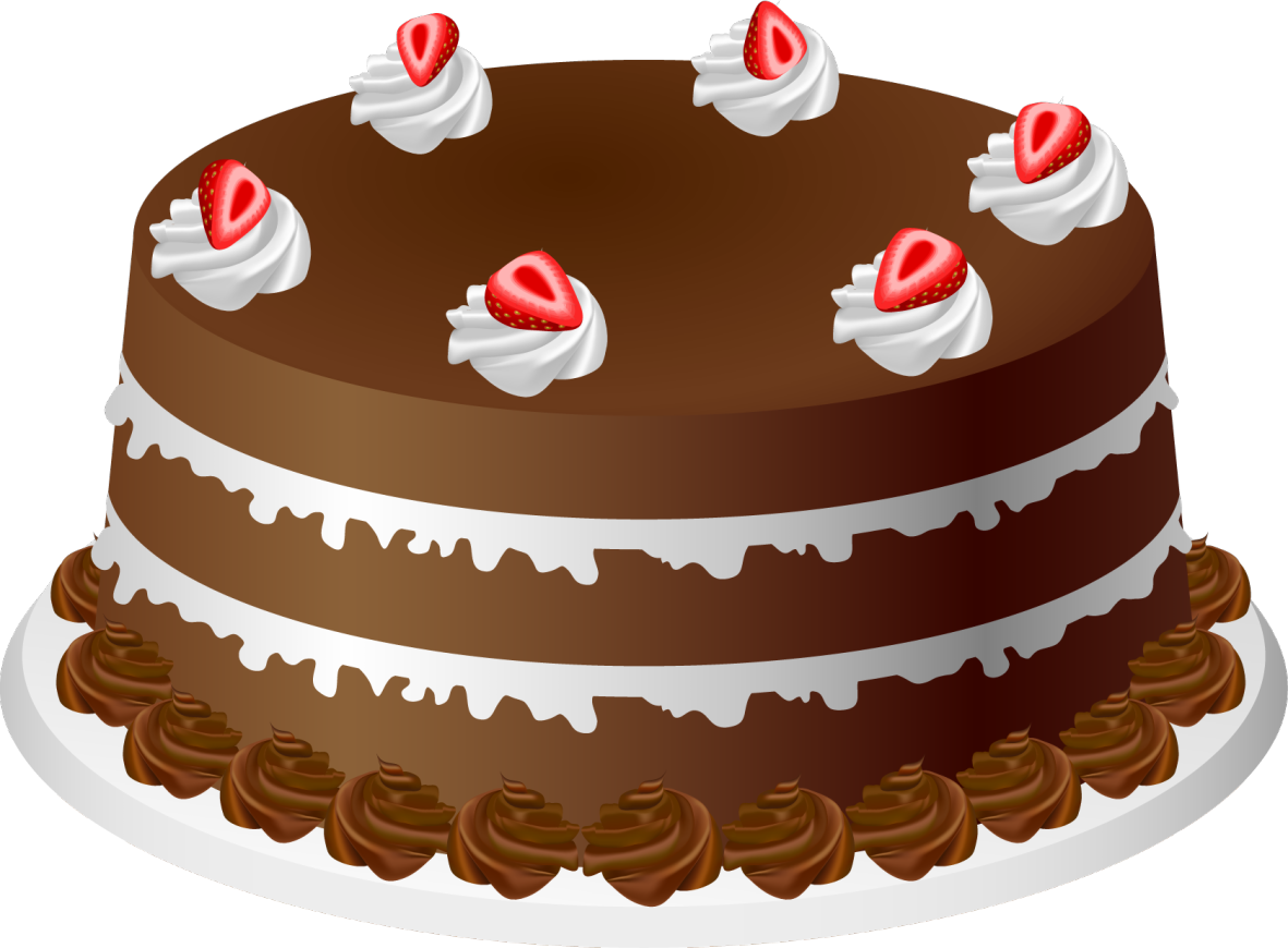 Christmas birthday cake transparent clipart. Cartoon free download clip