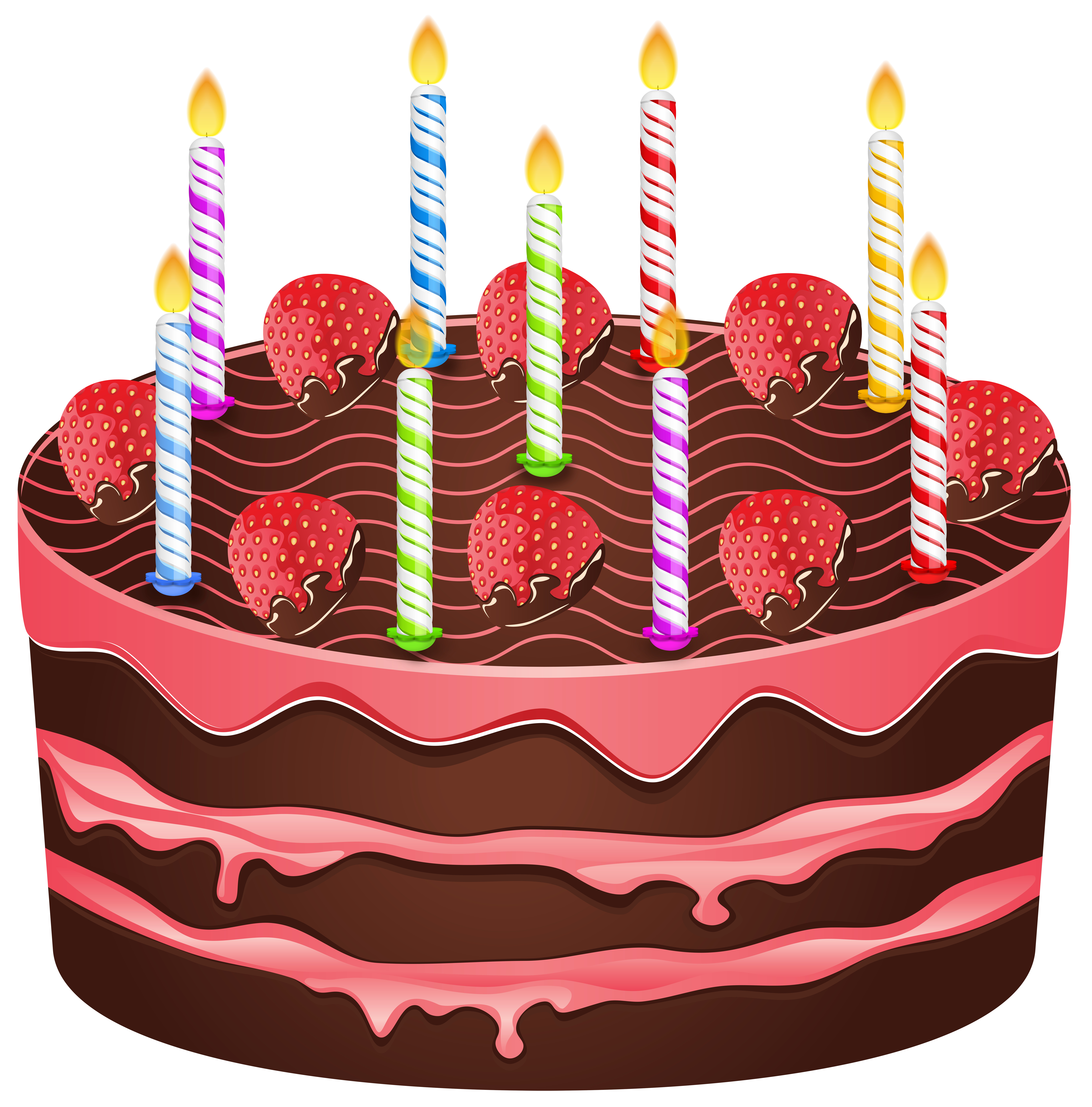 Christmas birthday cake transparent clipart png free stock Birthday Cake PNG Transparent Clip Art Image png free stock