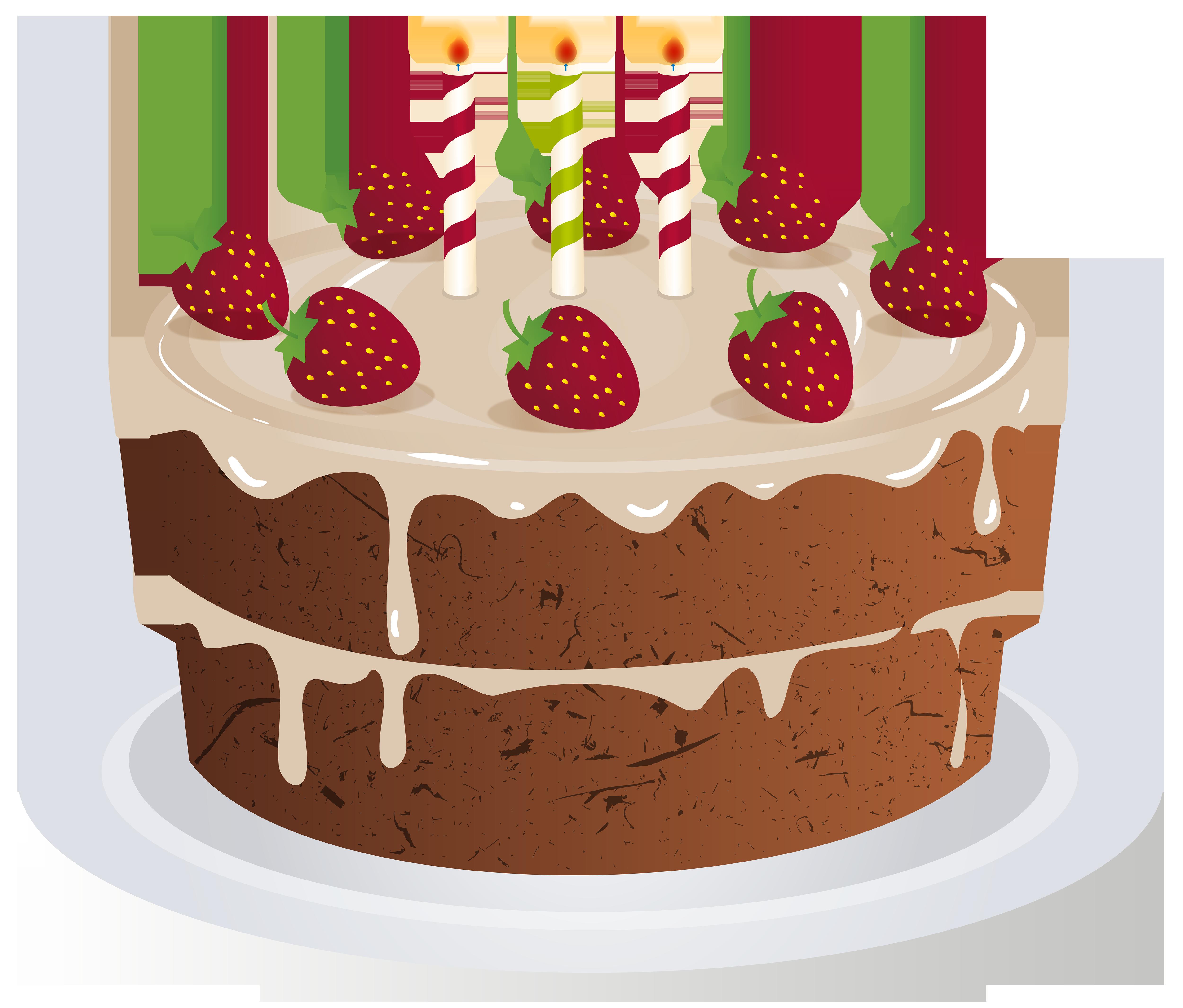 Free clip art birthday cake vector freeuse download Birthday Cake Transparent PNG Clip Art Image vector freeuse download