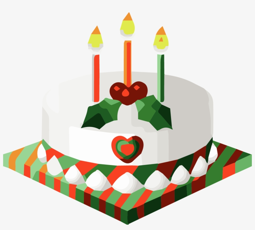 Christmas birthday clipart free png free Christmas Birthday Clip Art - Christmas Cake Clip Art Free - Free ... png free