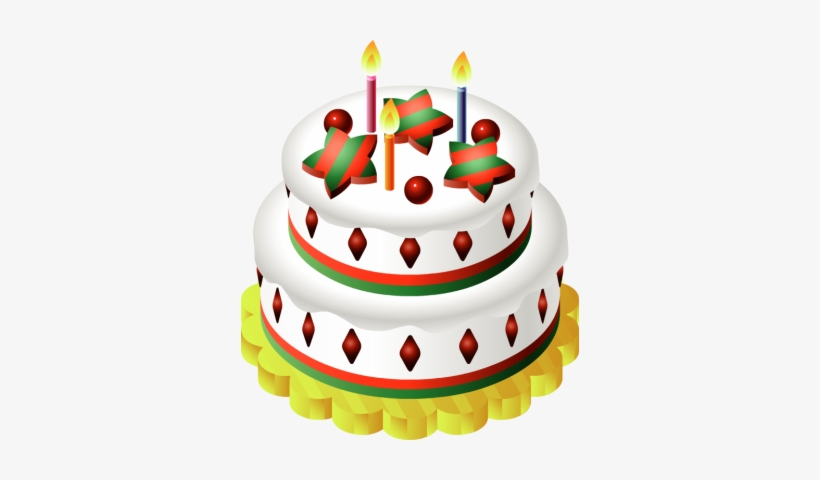Christmas birthday clipart free png freeuse Christmas Birthday Cake Clip Art - Free Transparent PNG Download ... png freeuse