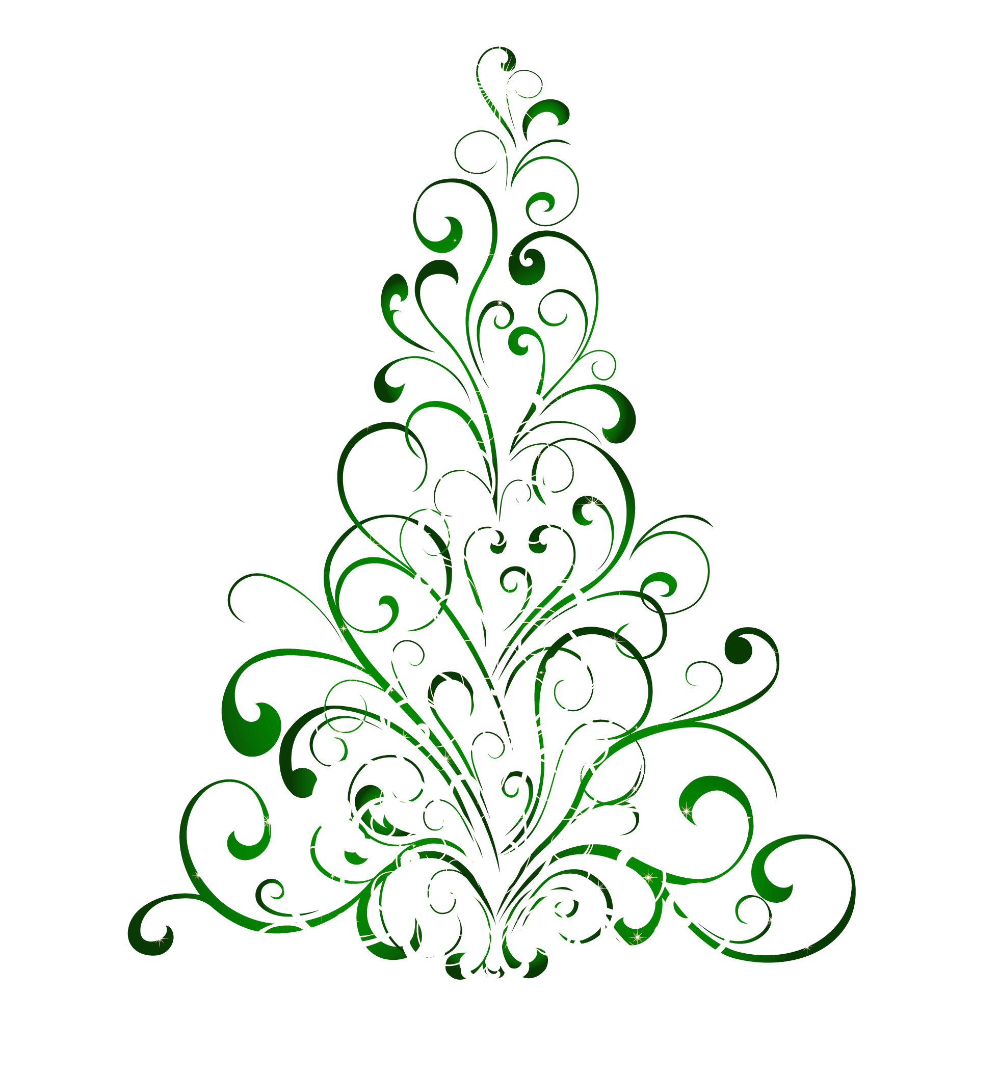 Fancy christmas tree clipart jpg library stock Christmas Clipart Free Black And White | Free download best ... jpg library stock