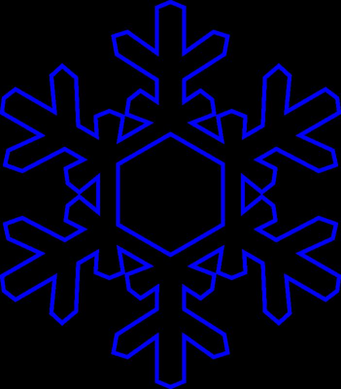 Christmas black snowflake clipart free clipart freeuse stock Snowflake Clip Art - ClipartPost clipart freeuse stock