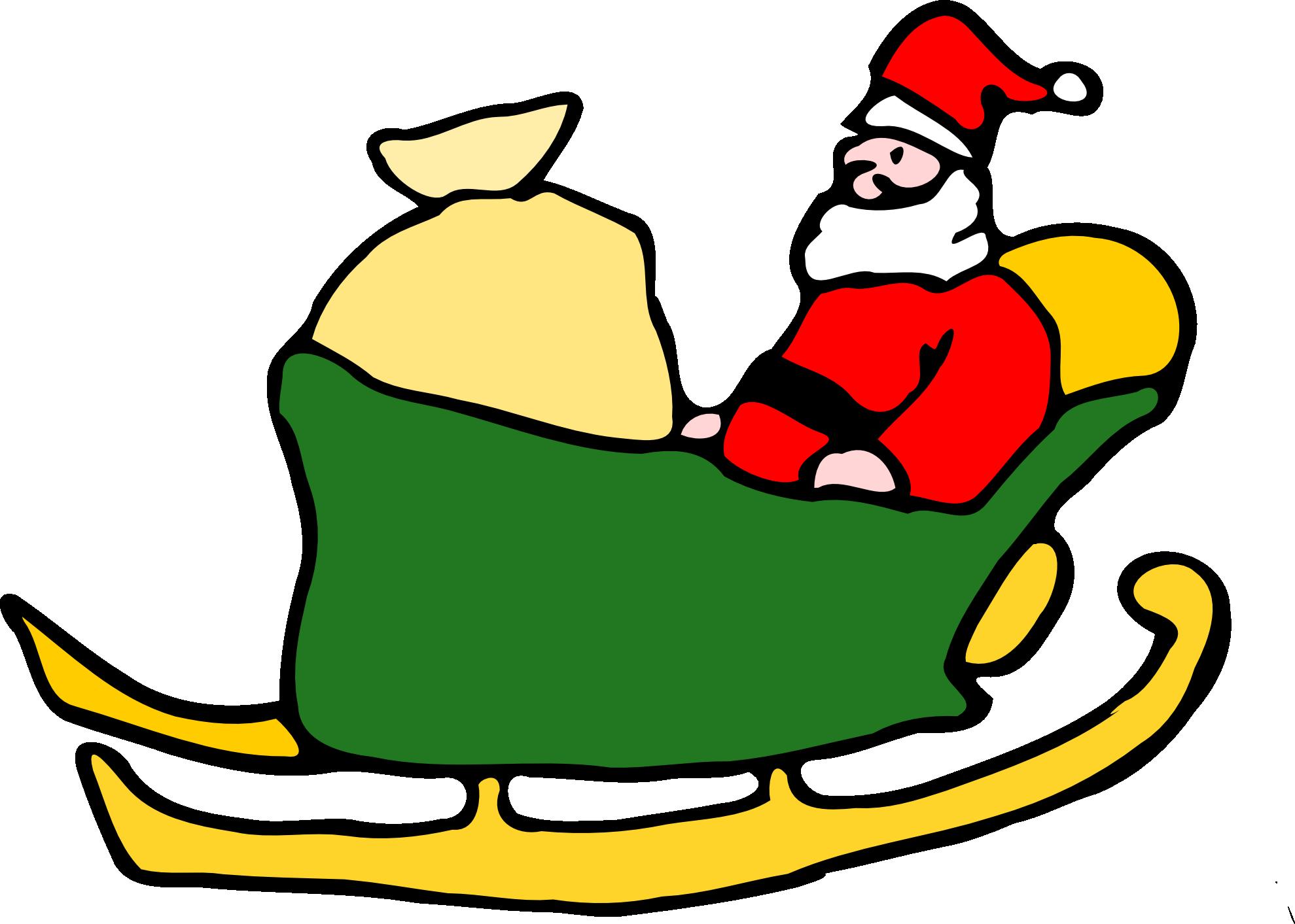 Christmas book clipart