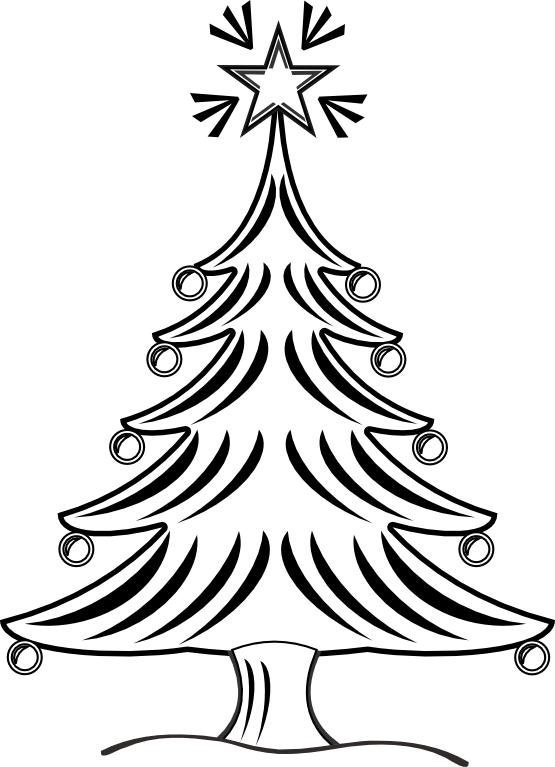 Christmas book clipart black and white clip library stock clipartist.net » Clip Art » xmas christmas tree 14 black white line ... clip library stock