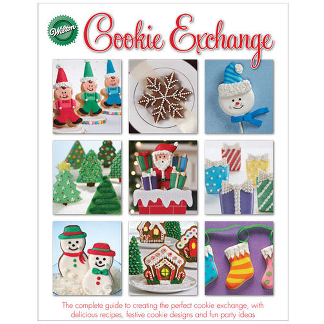 Christmas book exchange clipart picture transparent stock Christmas Cookie Exchange Book - Zoratto Enterprises picture transparent stock