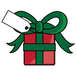 Gift swap cliparts