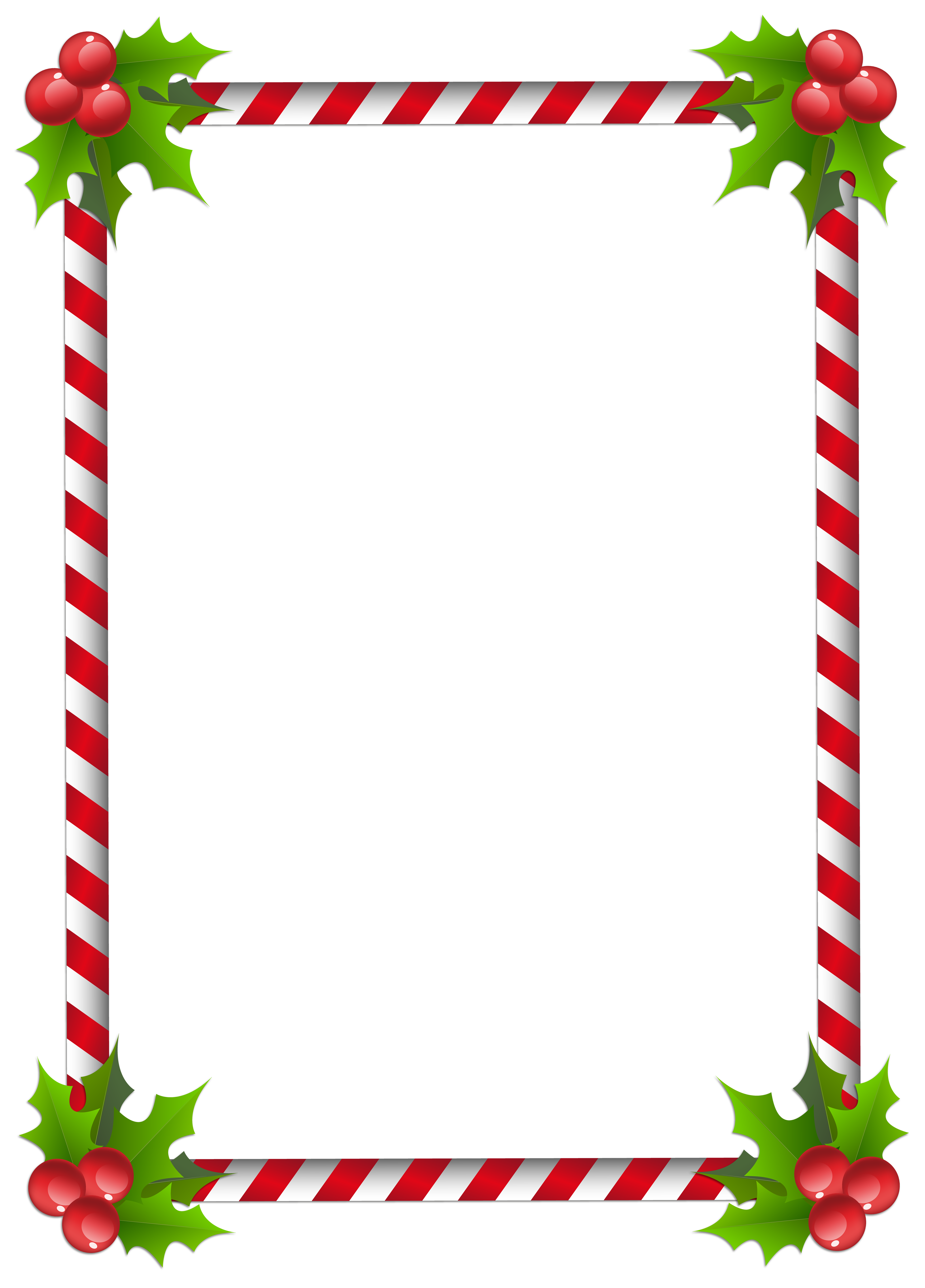 Christmas border clipart transparent vector transparent download Christmas Transparent Classic Frame Border | Gallery Yopriceville ... vector transparent download