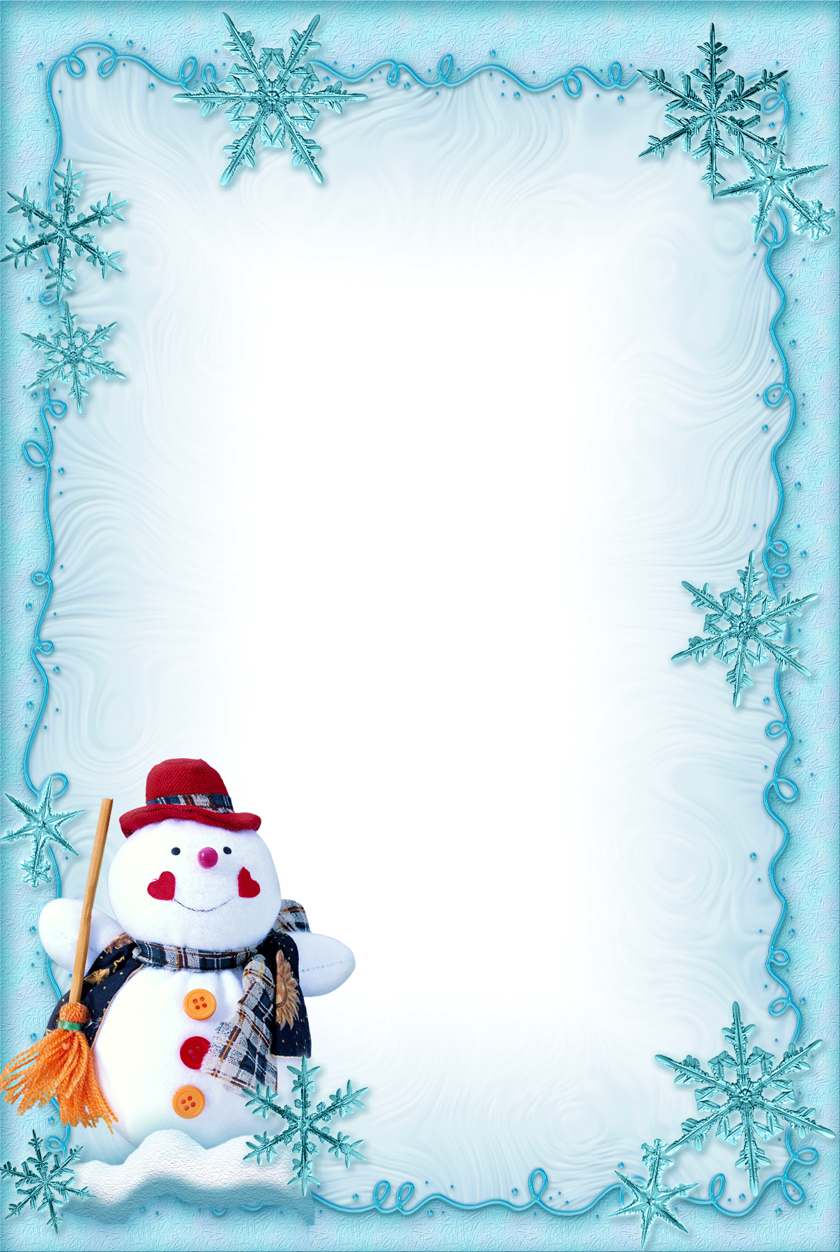 Christmas border clipart free free stock ramka-noviy-god-56.png (1205×1795) | Christmas & New Year ... free stock