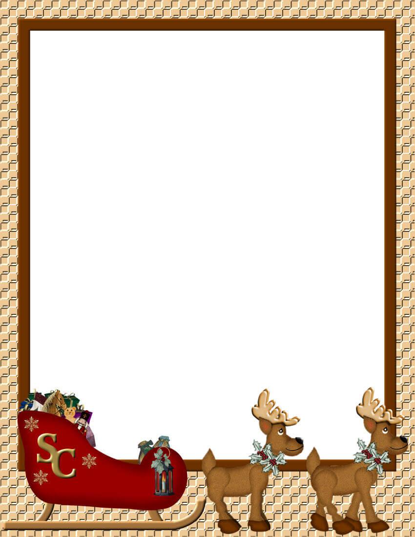 Christmas border clipart printable vector transparent library Free Christmas Border Clipart - Clipart Junction vector transparent library