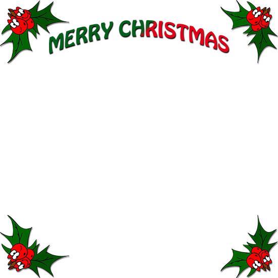 Free printable christmas border clipart vector library stock Free Christmas Borders - Frames vector library stock