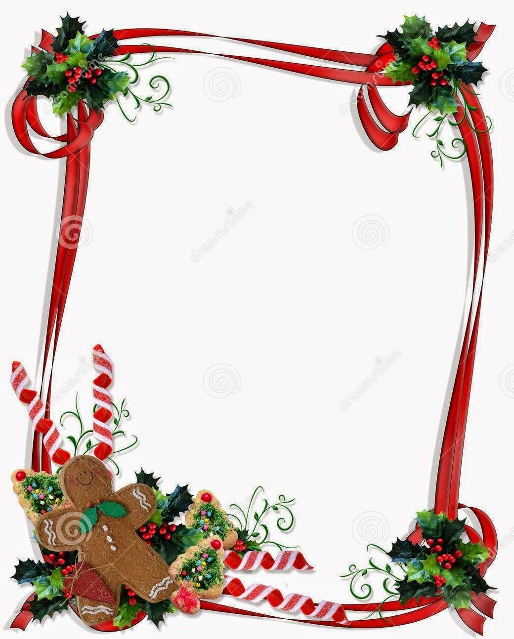 Christmas border clipart printable picture black and white stock Merry-Christmas-Day-2014-Border-Free-Printable-Download | Christmas ... picture black and white stock