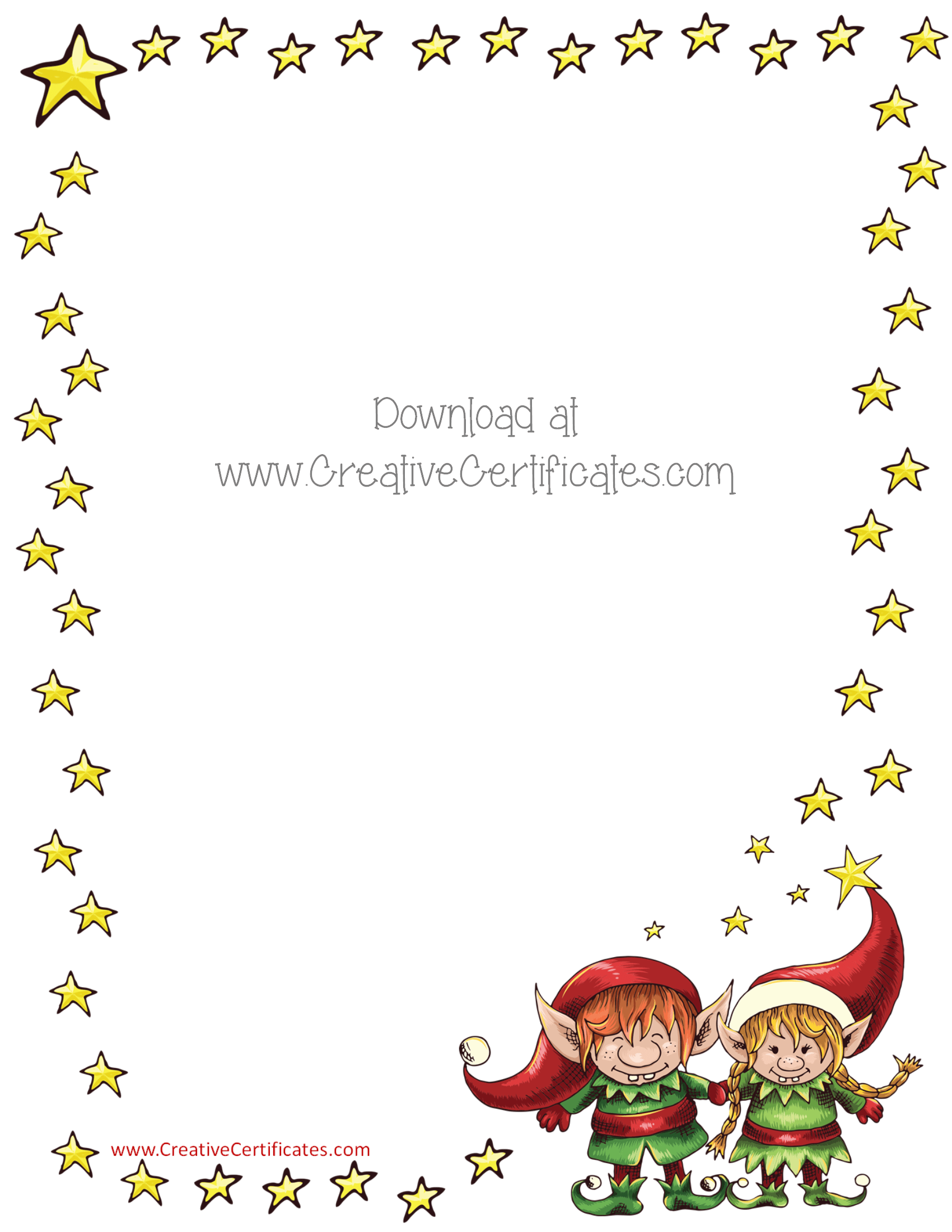 Free printable christmas border clipart png black and white library Free Christmas Border Templates - Customize Online then Download png black and white library