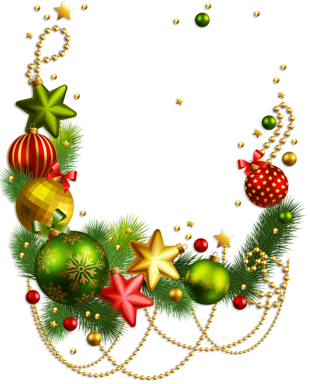 Christmas border corner clipart clip free Shop The Home Depot's collection of Christmas decorations and ... clip free