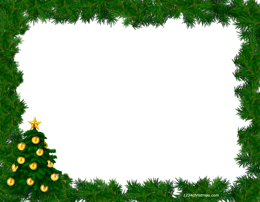 Christmas border frame clipart free svg download free christmas frames and borders free christmas picture border ... svg download