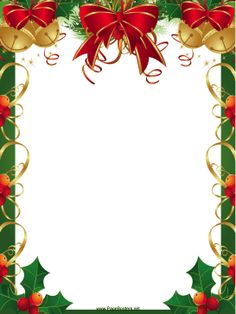 Christmas borders free printables. Clipartfest clipart