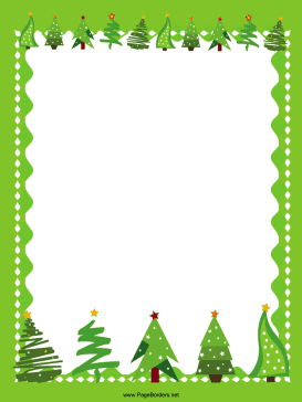 Holiday and seasonal . Christmas borders free printables