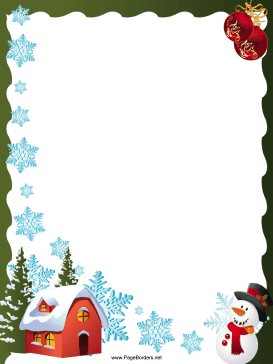 Christmas borders free printables. Clipartfest printable page