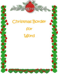 Christmas borders free printables jpg library stock 10+ images about Borders Xmas invites on Pinterest | Free ... jpg library stock