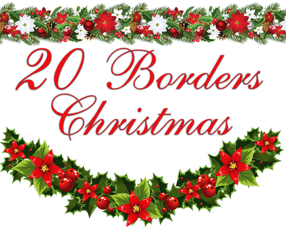 Christmas borders free printables. For letters clipart kid