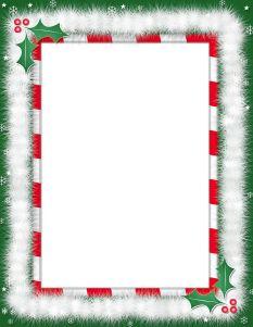 Christmas borders free printables jpg free stock free printable boarders | Christmas Border - Free Page Borders ... jpg free stock