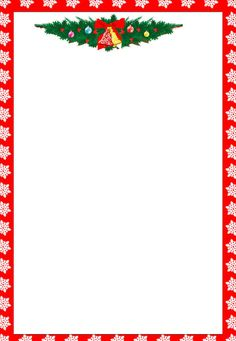 Christmas borders free printables. Clipartfest printable