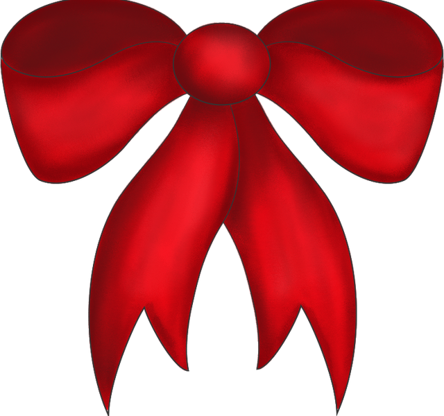 Christmas bow clipart free clipart stock Christmas Bow Clipart Free : Coloring Ideas for Kids - Coloring ... clipart stock