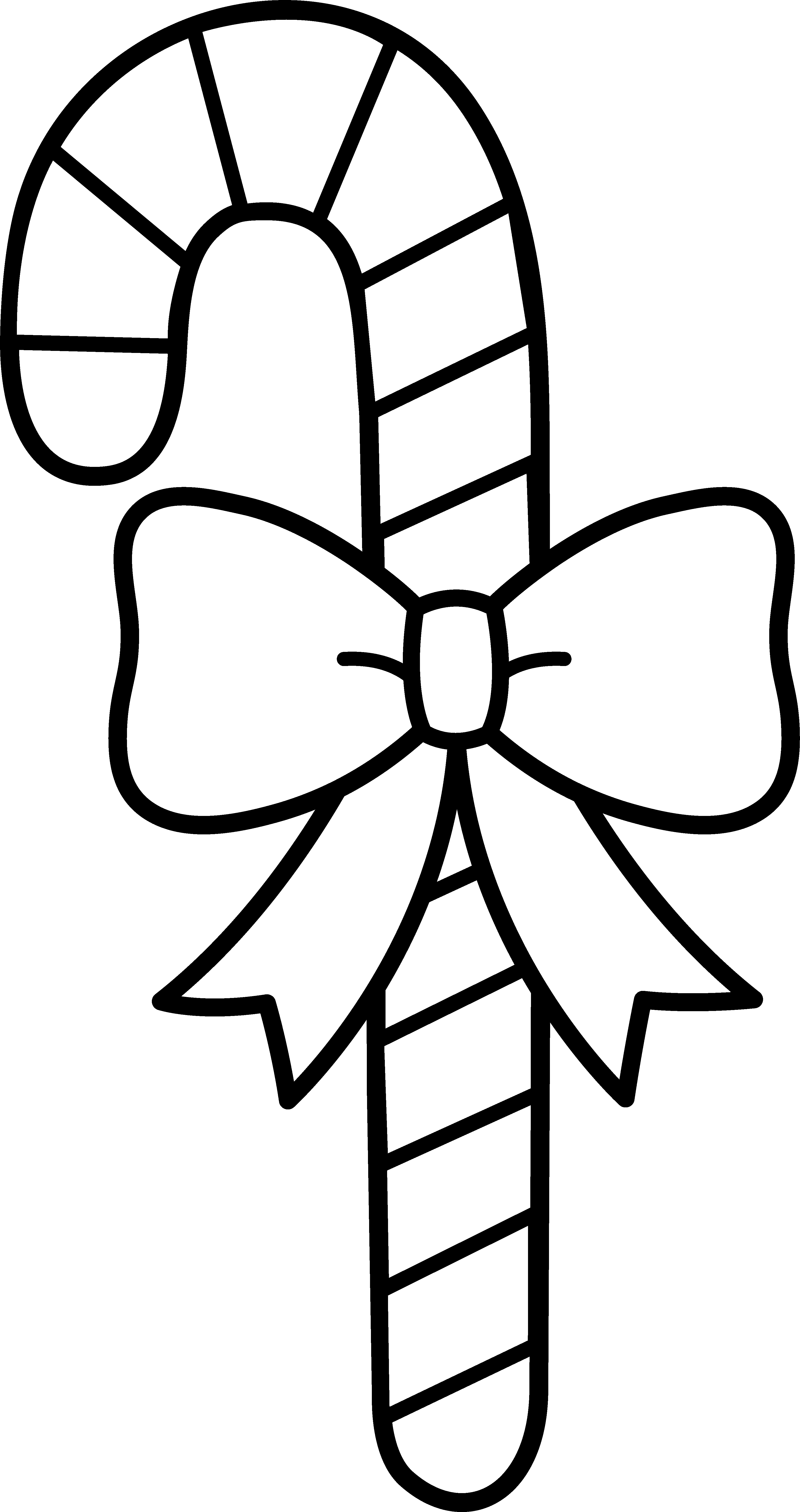 Christmas bow clipart black and white clipart library download 28+ Collection of Christmas Candy Clipart Black And White | High ... clipart library download
