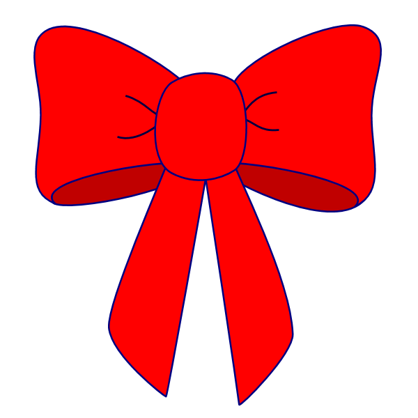 Christmas bow clipart free clip art free library 28+ Collection of Red Bow Clipart Free | High quality, free cliparts ... clip art free library