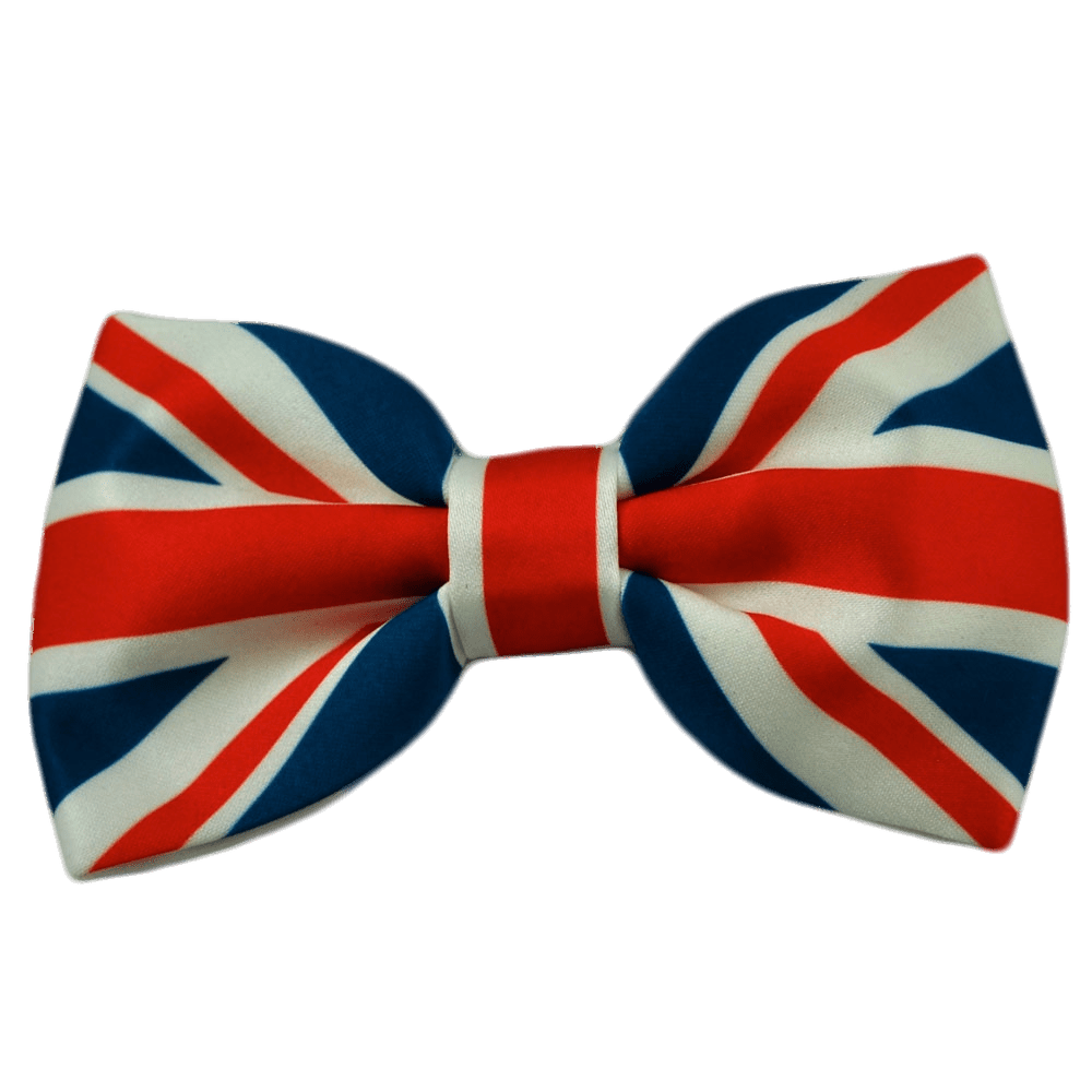Christmas bow tie clipart png royalty free download Union Jack Bow Tie transparent PNG - StickPNG png royalty free download