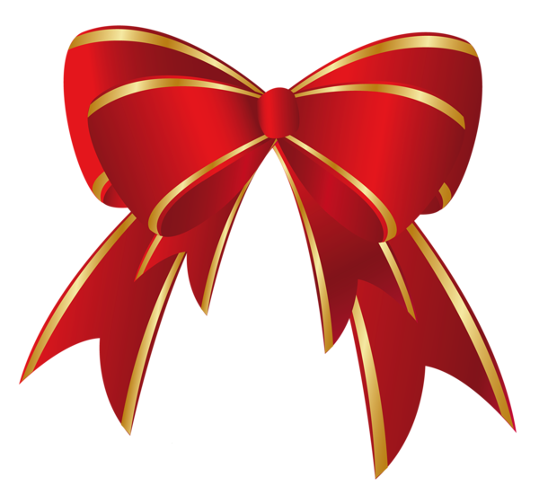 Clipart christmas bow clip art library download Christmas Red Gold Bow PNG Clipart | Decorations | Pinterest | Red ... clip art library download