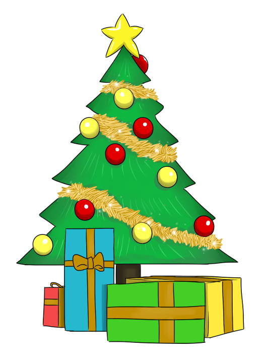 Clipart christmas tree with presents png transparent download Christmas Tree With Presents Clipart Free collection | Download and ... png transparent download