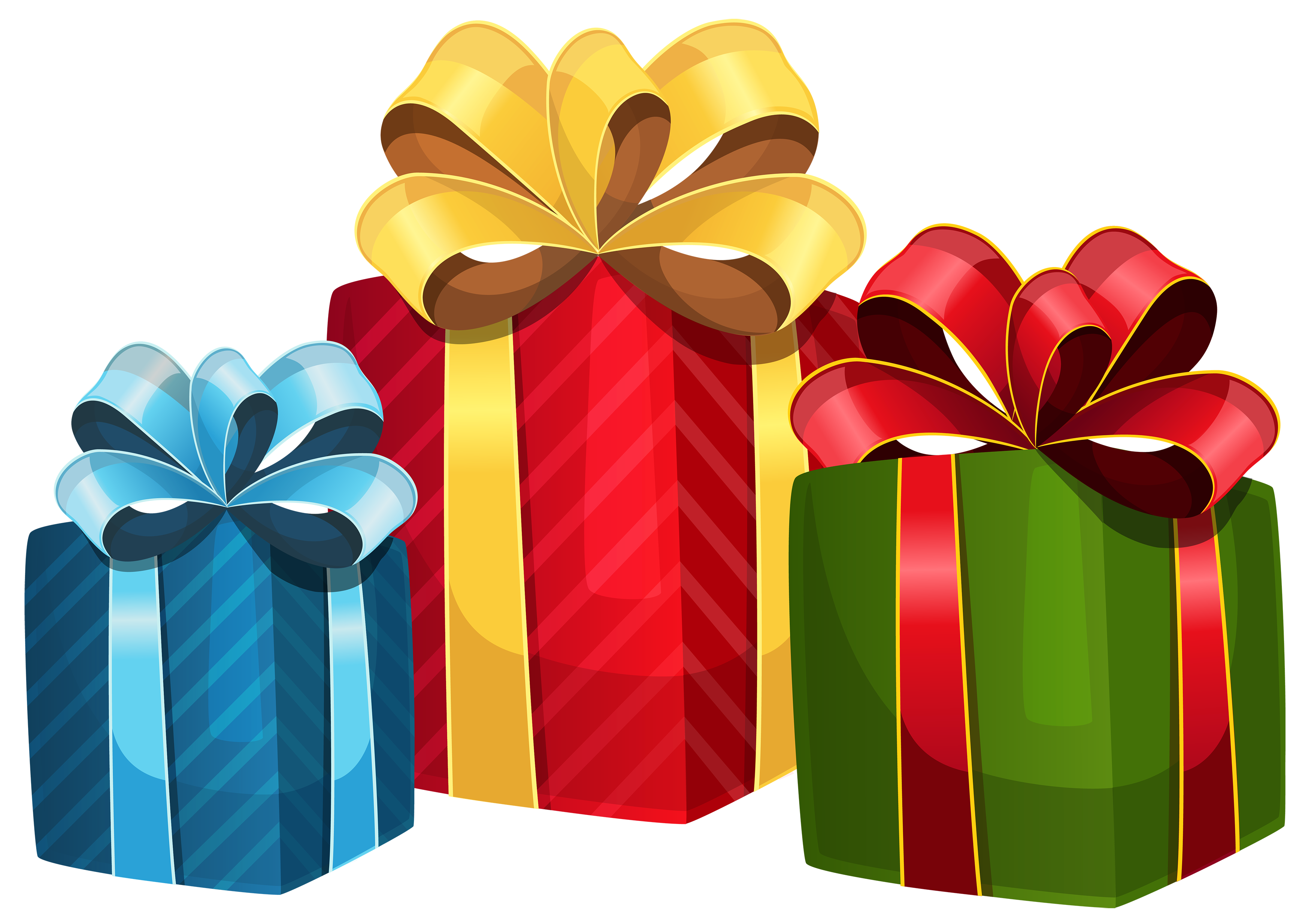 Clipart christmas gifts clip stock Christmas gift Clip art - gift box 3500*2466 transprent Png Free ... clip stock